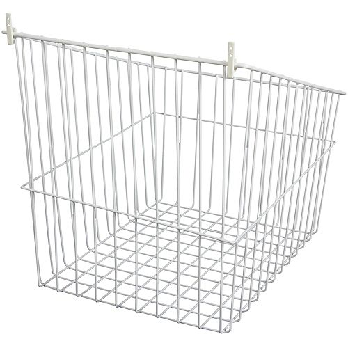 Tip-Out Wire Hamper - 16.5 Inches Wide (8-Pack)