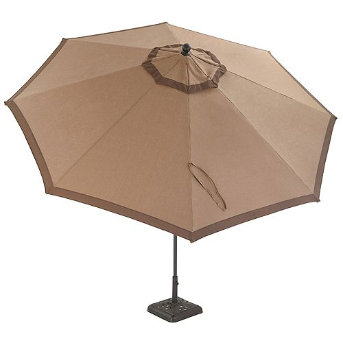 Millstone 11 Feet Crank & Tilt , 8 Rib, Almn Market Umbrella