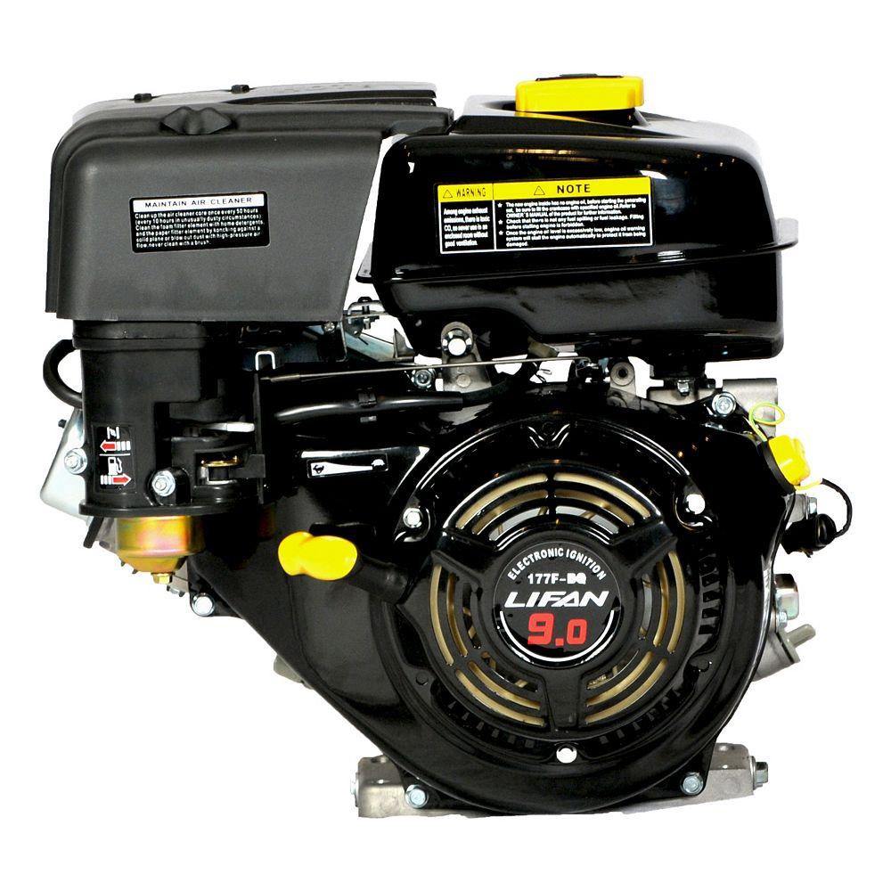 LIFAN 9 HP 270 cc OHV Recoil Start 1 in. Horizontal Keyway Shaft Engine