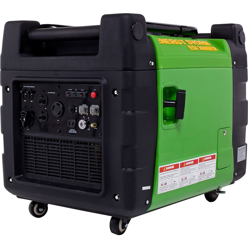 LIFAN 3500W Inverter Generator with Idle Control, Remote Start and Portability Kit