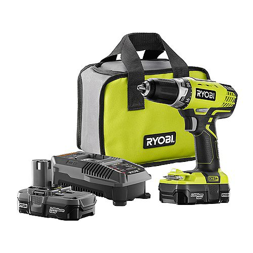 18V ONE+ Lithium-Ion Cordless 1/2-inch Compact Drill/Driver Kit