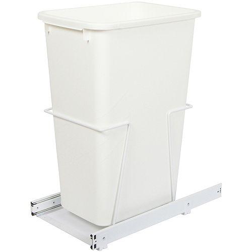 Unité à déchets et à recyclage à un contenant de 47,3 litres - Couvercle non inclus