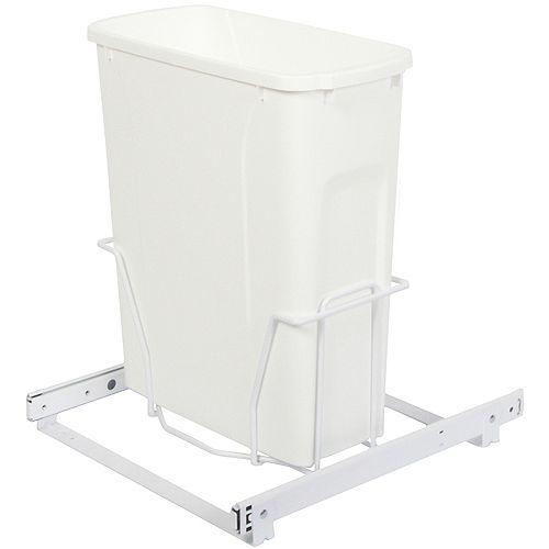 Unité à déchets et à recyclage à un contenant de 18,9 litres - Couvercle non inclus