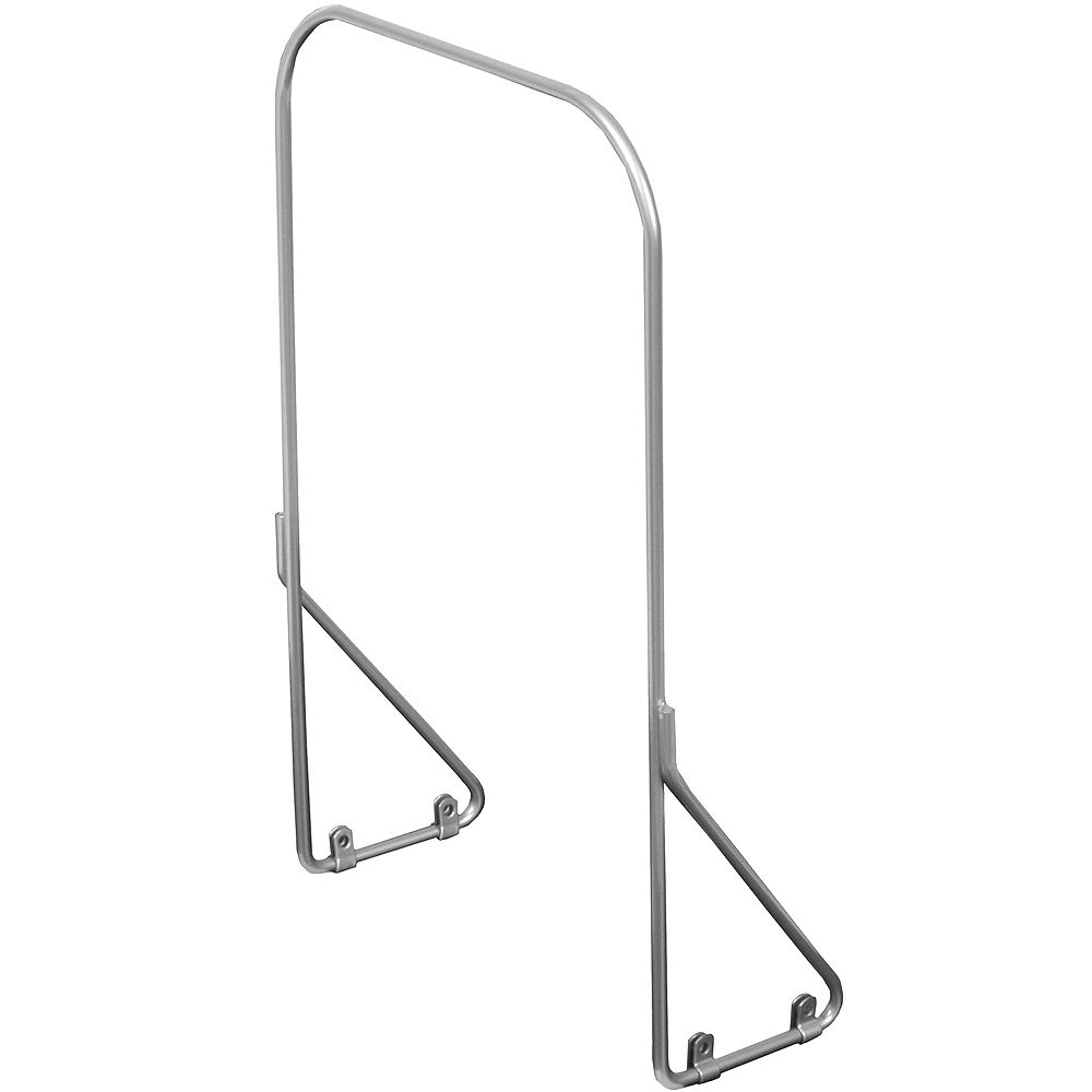 Knape & Vogt Handle For Bottom Mounted Frosted Nickel Waste & Recycling Units - 12 Inches Wide