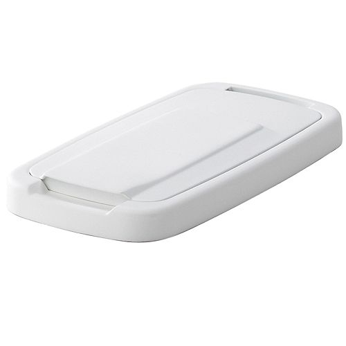 Lid For 20 Quart White Waste and Recycle Bin