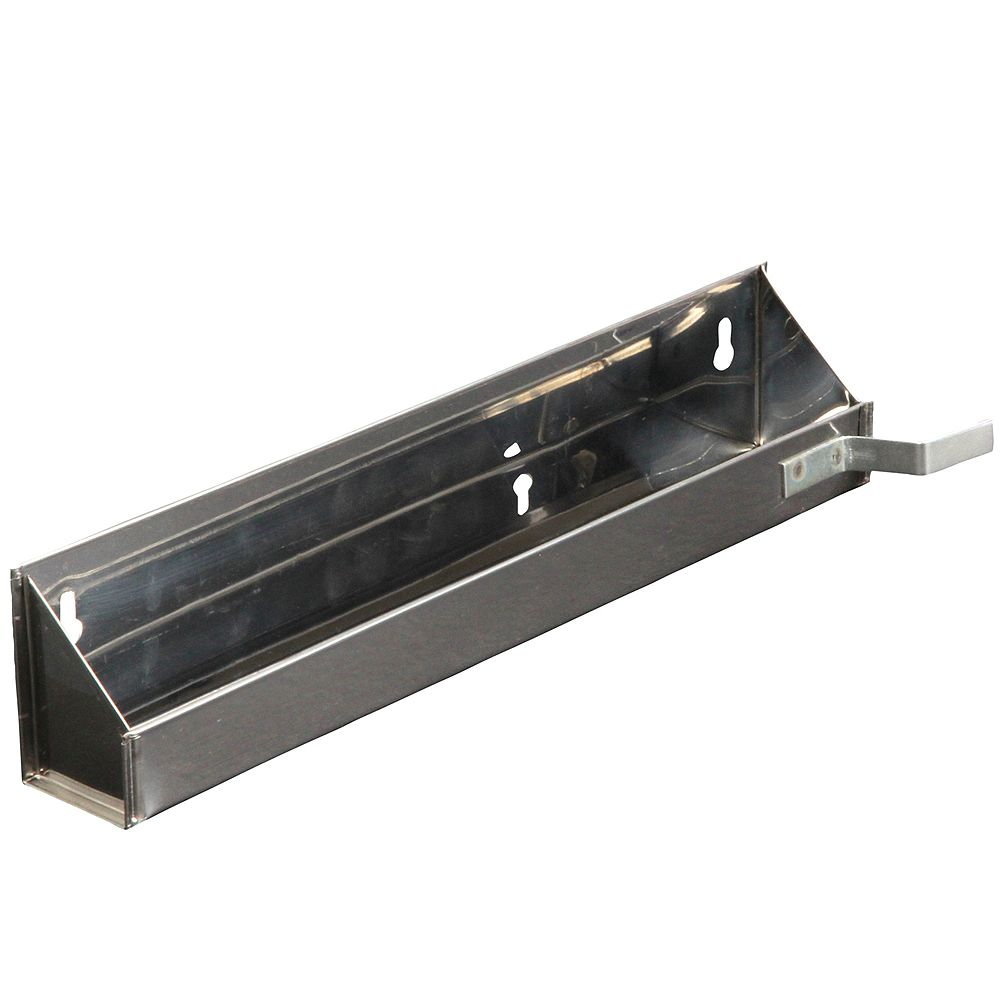 Knape & Vogt Steel Sink Front Tray With Stops- 14.625 Inches Wide