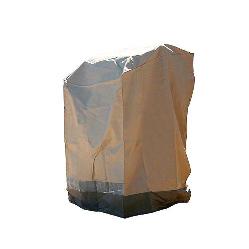 Housse de pile de chaises Polyester 380g avec revêtement PVC