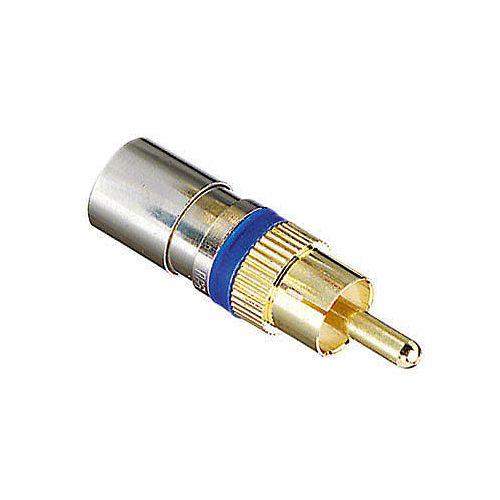 Connecteur à RCA Compression qte 4