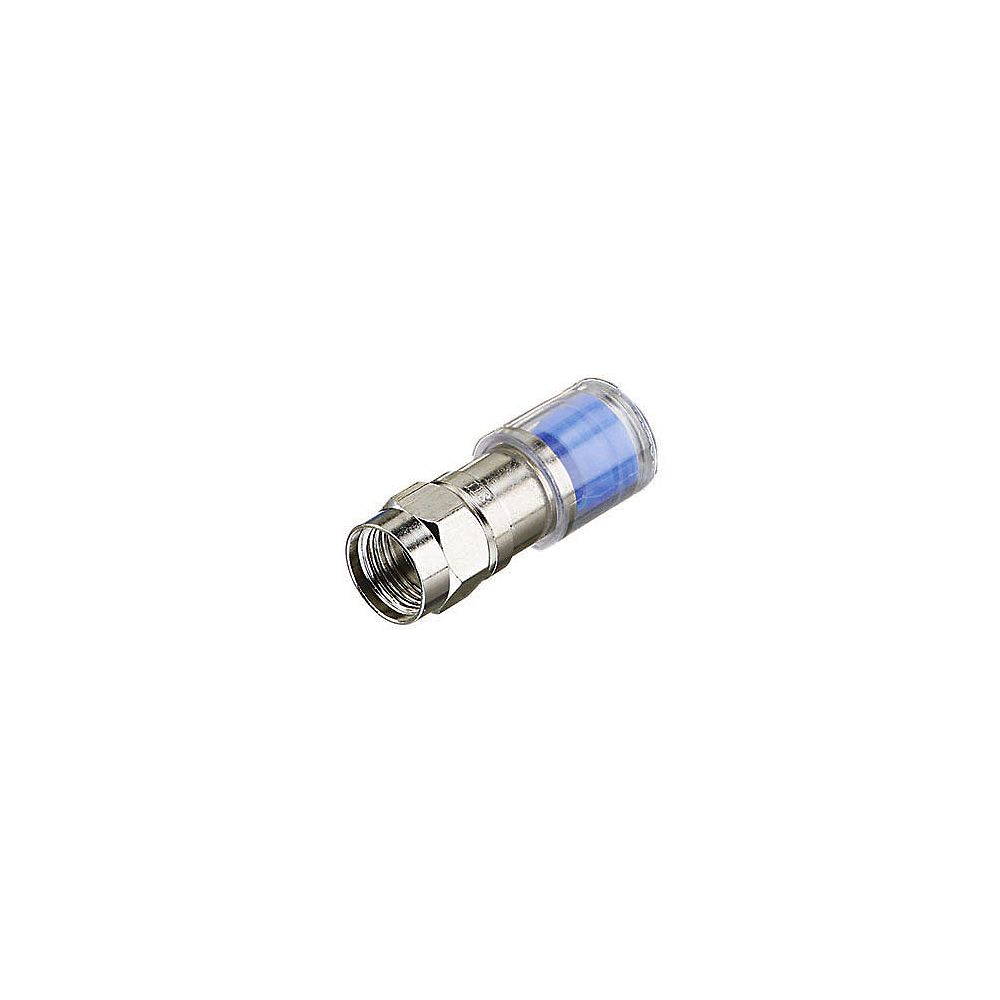 IDEAL RG6 Compression F Connector (10-Pack)