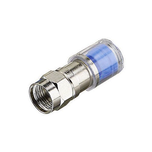 RG6 Compression F Connector (10-Pack)