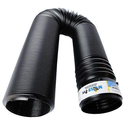 4 in. x 8 ft. Solid Pipe