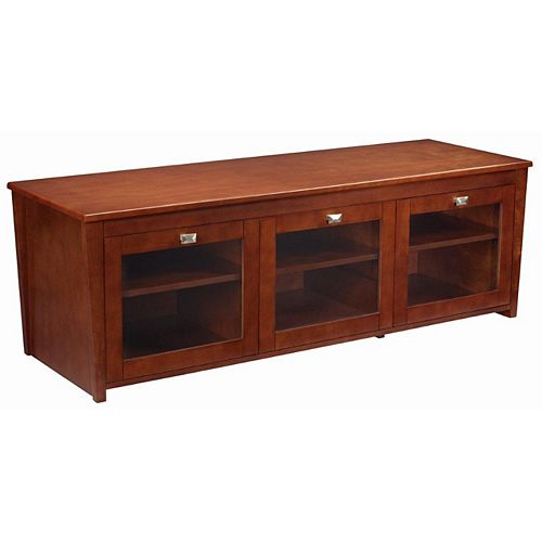 Trimark 60 Inch Home Theatre Wood Console
