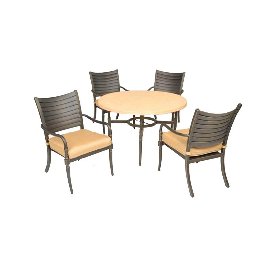 Hampton Bay Madison 5-Piece Dining Set
