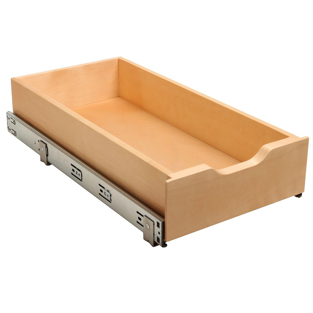 Real Solutions 11 Inch Soft-Close Wood Drawer Box