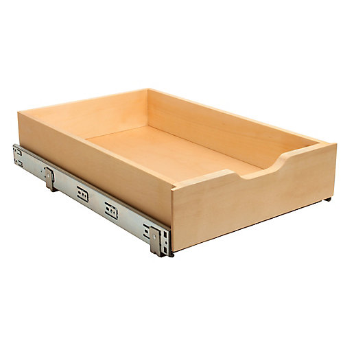 14-inch Soft-Close Wood Drawer Box