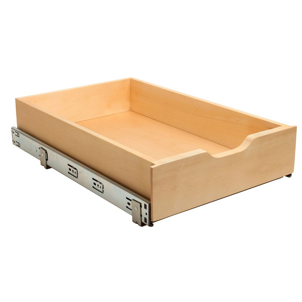 Real Solutions 14-inch Soft-Close Wood Drawer Box