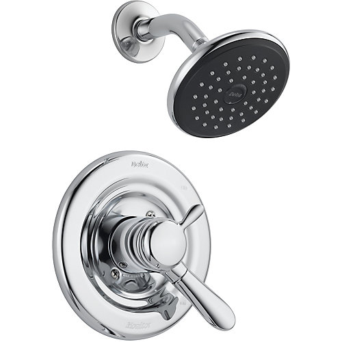 Lahara 1-Spray Shower Faucet in Chrome (Valve Sold Separately)