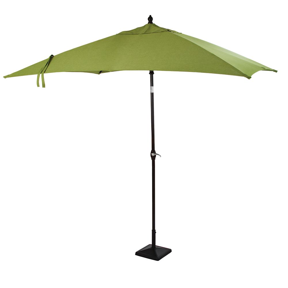 Hampton Bay Fall River 9 Feetx6 Feet Rectangular Umbrella