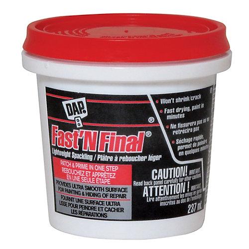 FAST N FINAL Lightweight Spackling - Off White  237 ml