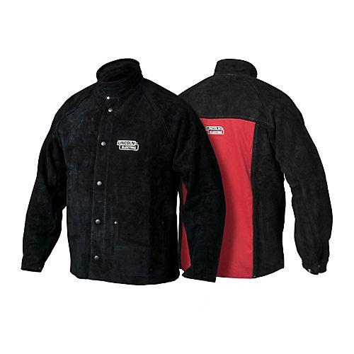 Heavy Duty Leather Welding Jacket - Medium