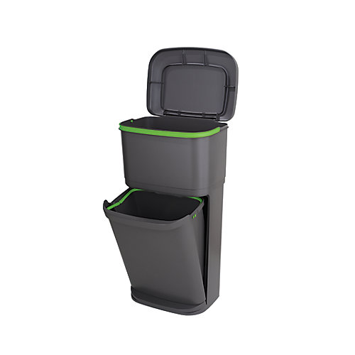 2-n-1 Recycle Trash Can