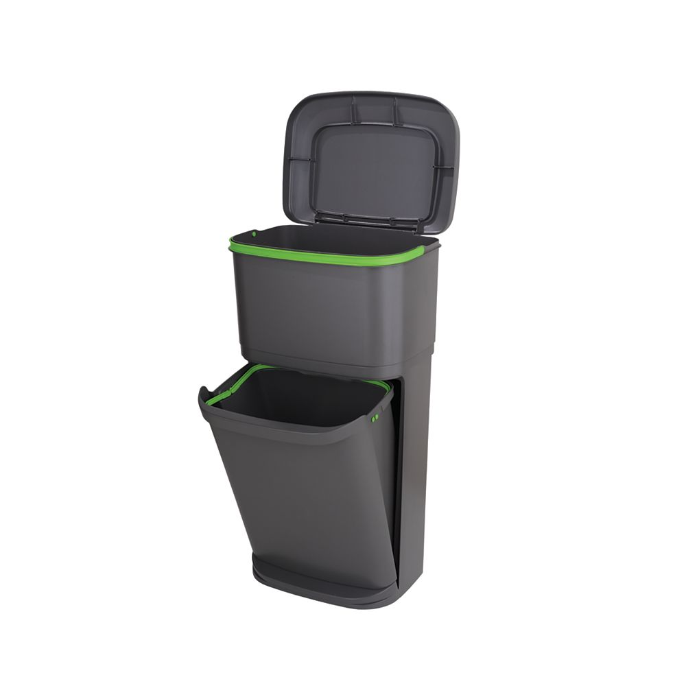 Rubbermaid 2-n-1 Recycle Trash Can