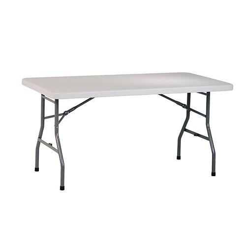 Table polyvalente en résine de 5 pi.