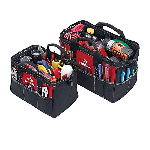 Ensemble de sacs à outils, 12 po et 15 po