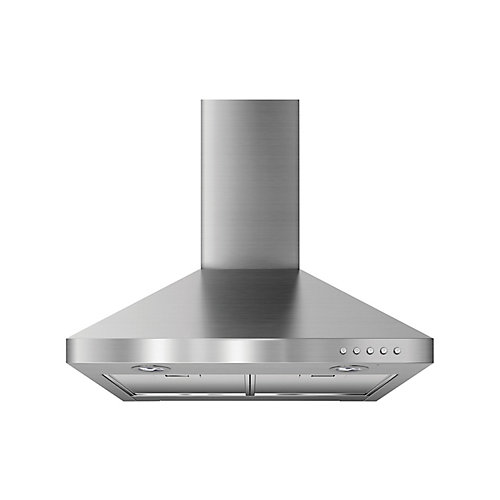 24-inch Wall Mounted Range Hood in Stainless Steel