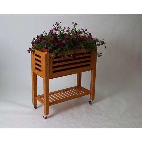 Planche de jardin surélevée Ergogarden en terre cuite