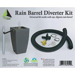 Deluxe Rain Barrel Downspout Diverter Kit