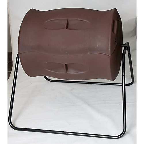 Terra 55 Gal. Tumbling Composter in Dark Brown