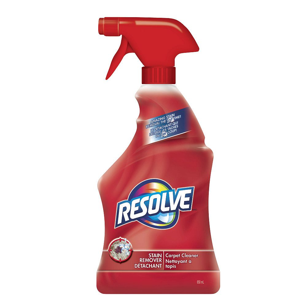 Resolve 650 Ml Stain Removal Carpet Cleaner The Home Depot Canada