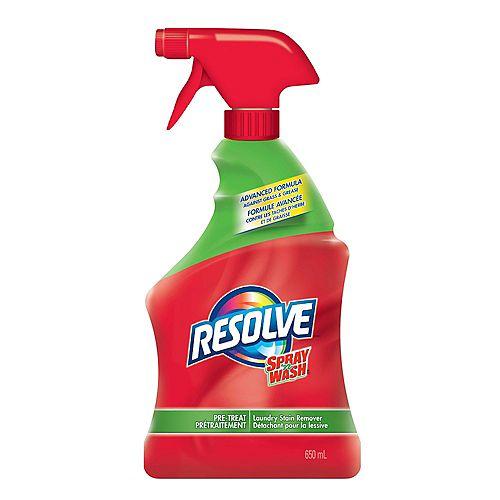 Détachant pour la lessive en vaporisateur Spray 'n Wash, Prétraitement, 650mL