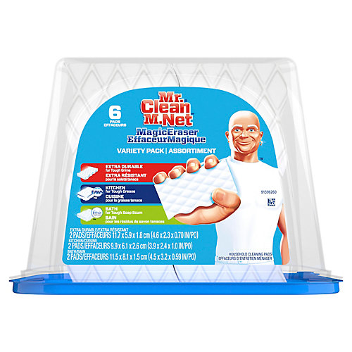 Mr.Clean Eraser Variety Tub 6 Count Ca