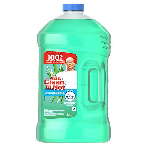 Mr. Clean 2.4 L Multi-Surface Cleaner with Freshness (Meadows & Rain)