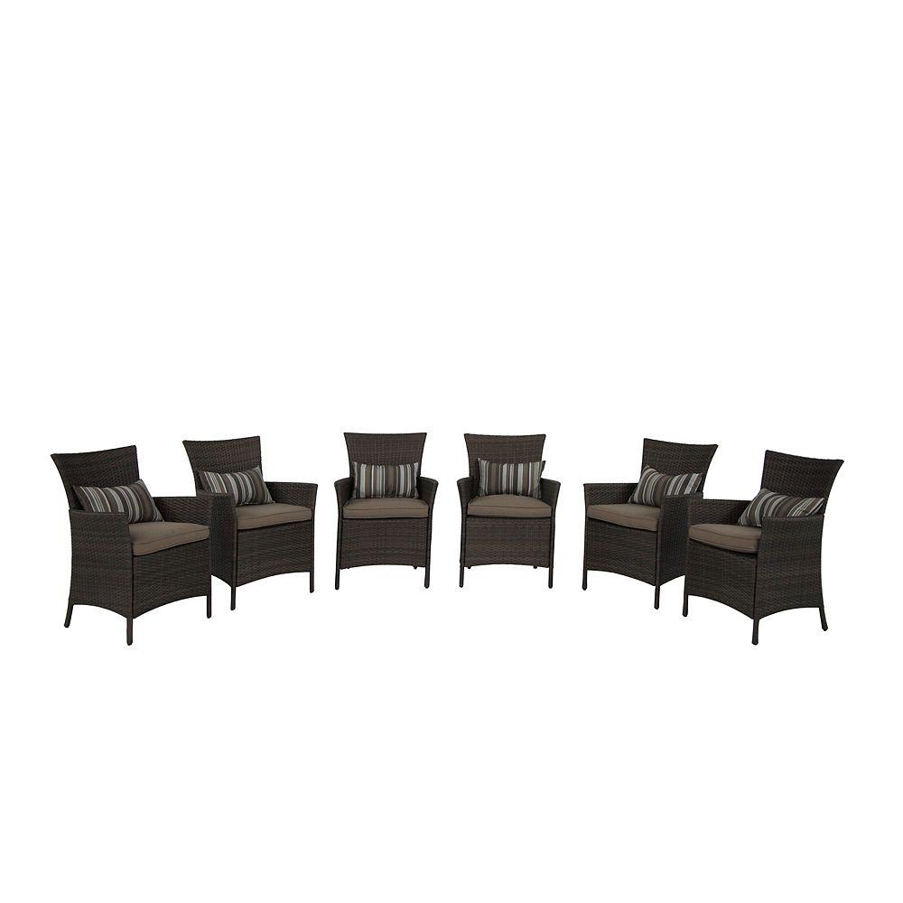 Hampton Bay Tacana 6-Piece Chair Set