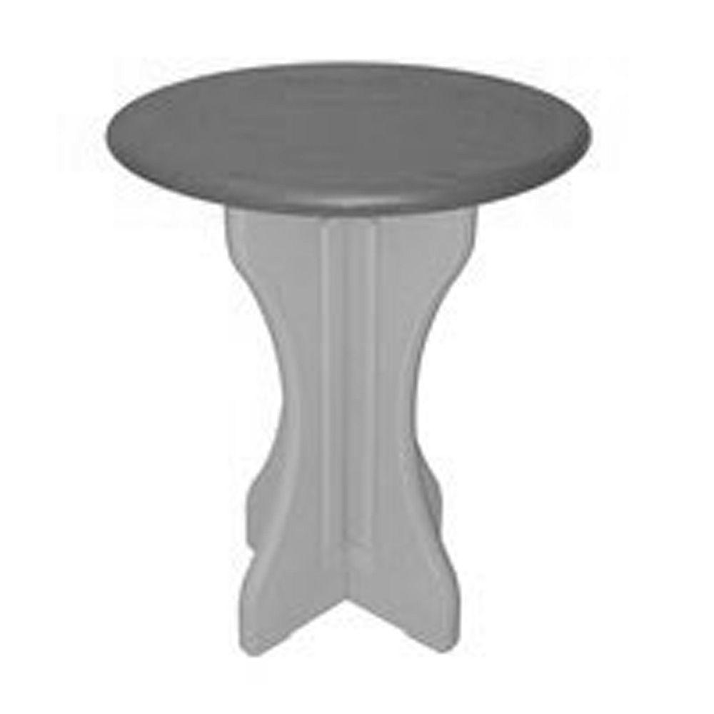 Qca Spas 30 Inch Round Table Gray
