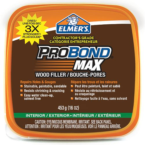 Stainable Max Wood Filler 453GR Tub