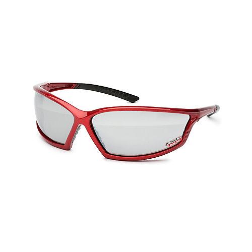 I-Beam Red Safety Glasses