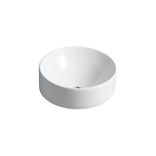 Vox(R) Round vessel bathroom sink