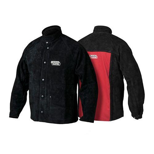 Lincoln Electric Heavy Duty Leather Welding Jacket - - XXL