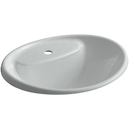 Tides(R) drop-in sink with single faucet hole