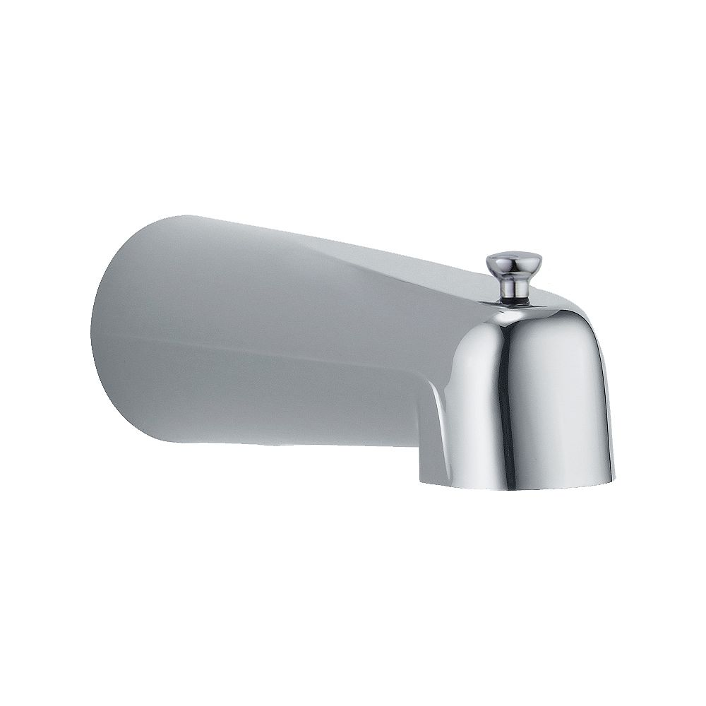 Delta Pull-Up Diverter Tub Spout in Chrome