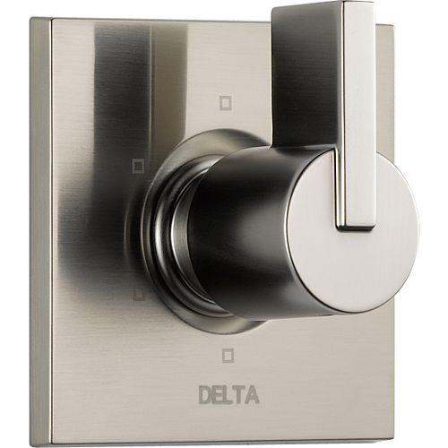 Delta Vero - Trousse de garniture pour soupape dinversion et régulateur de débit, en acier inoxydable (soupape vendue séparément)