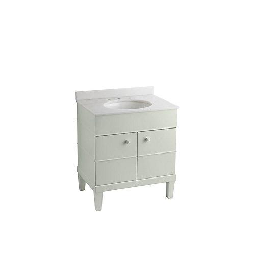 Evandale 30-inch W Vanity in White
