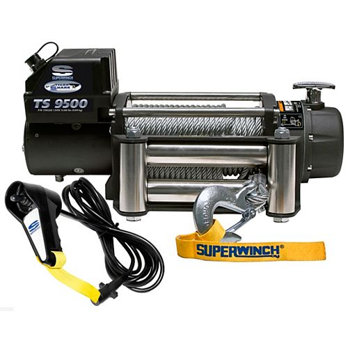Tiger Shark 9500 9500 lbs./12V Vehicle Recovery Off-Road Winch