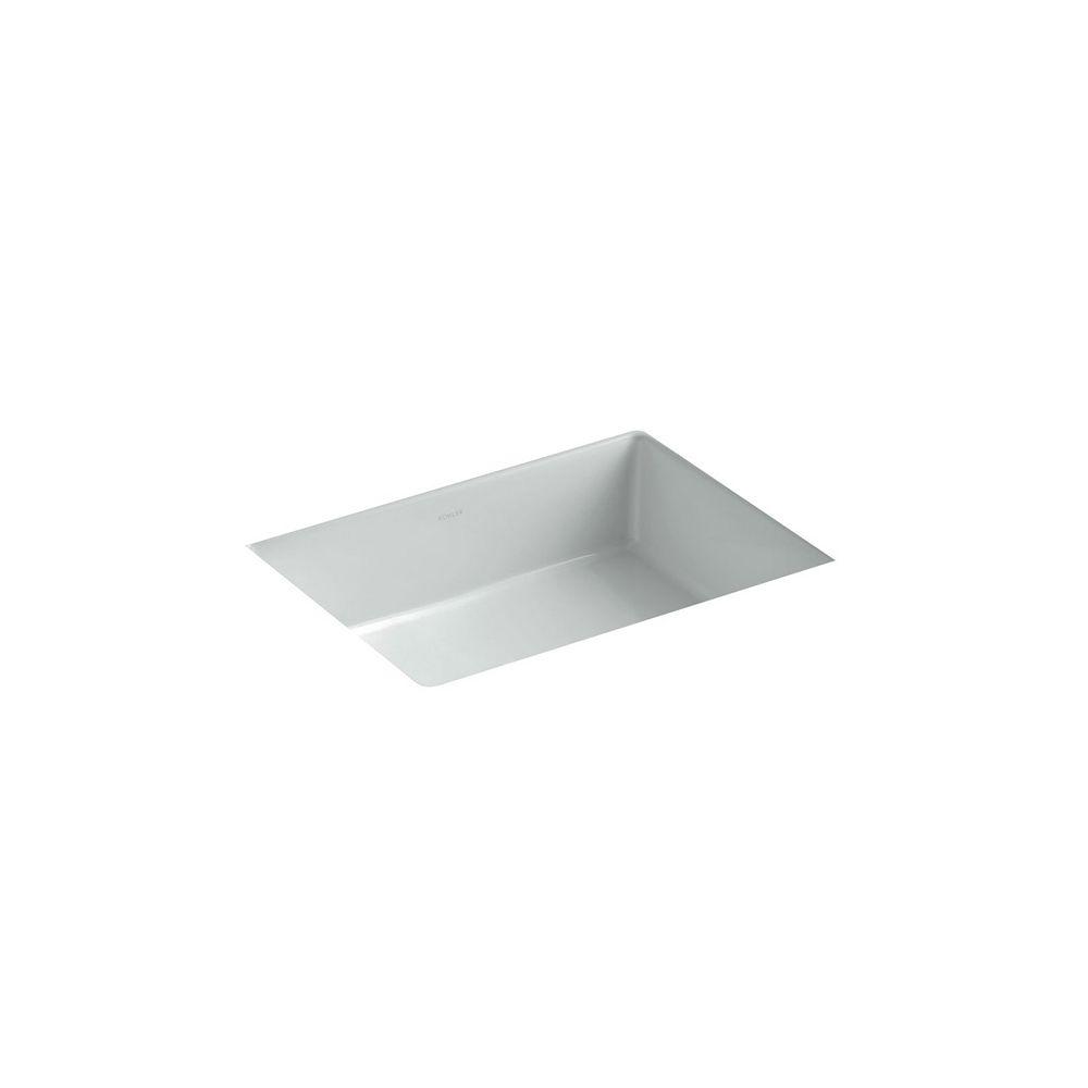 KOHLER Verticyl(R) Rectangle under-mount bathroom sink