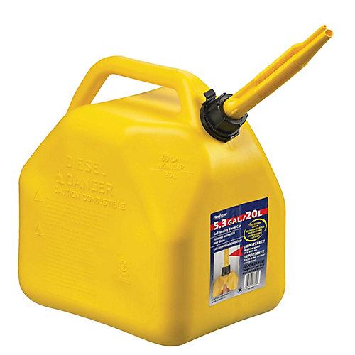 5 Gallon/20 Litre Bidon de diesel