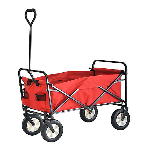 3.5 cu. ft. 22-inch W Folding Utility Cart